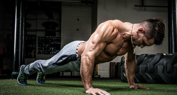 training at home for men