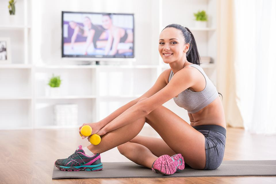 fitness at home training